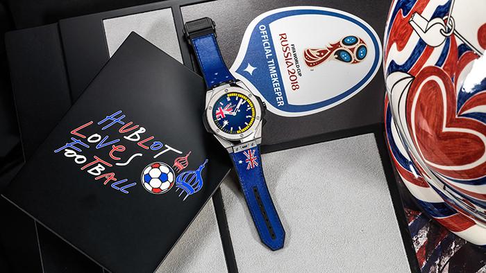 Чемпионату мира по футболу в России посвятили смарт-часы Hublot за пять тысяч долларов