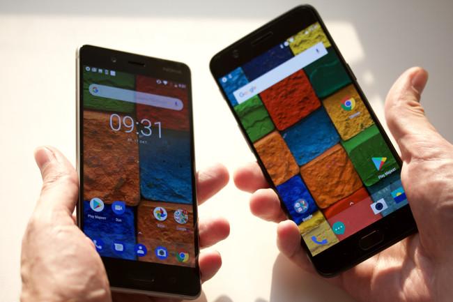 Nokia 8 и OnePlus 5 обзор