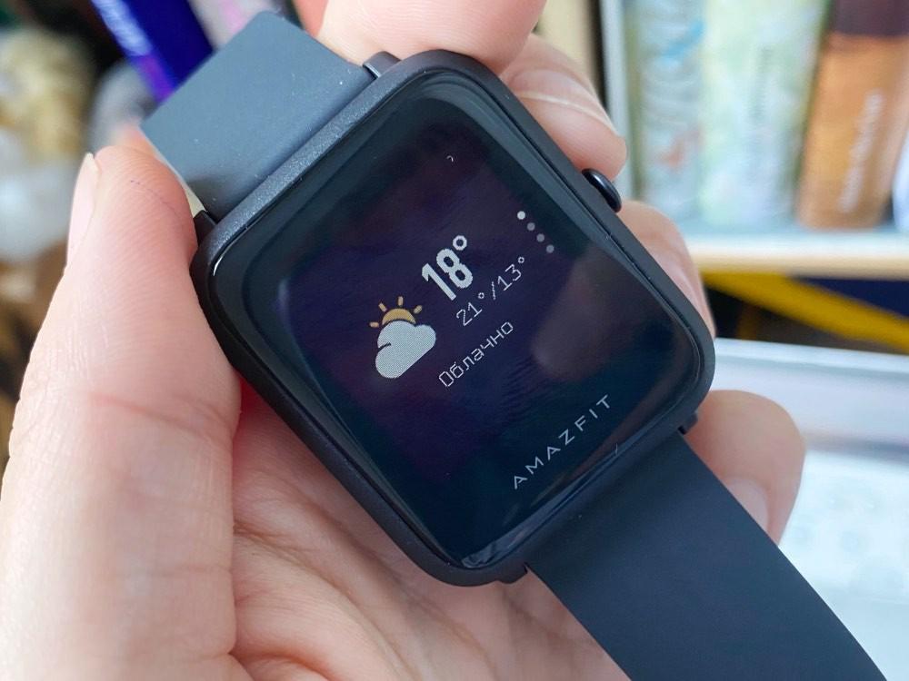 Обзор линейки умных часов Amazfit Bip: легкие и недорогие умные часы для активных людей