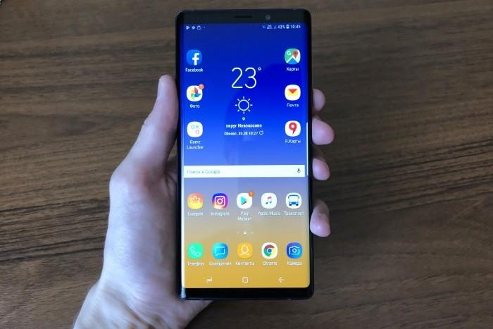 Samsung Galaxy Note 9 обзор