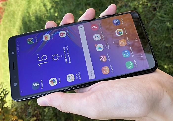 Samsung Galaxy A7 2018 обзор