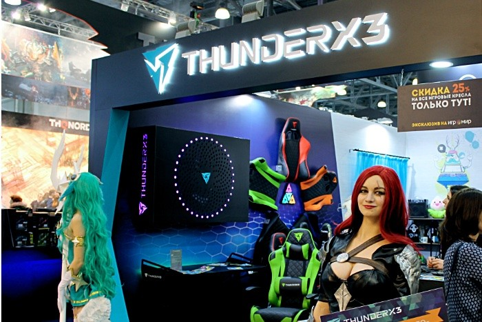 ThunderX3 игромир 2018