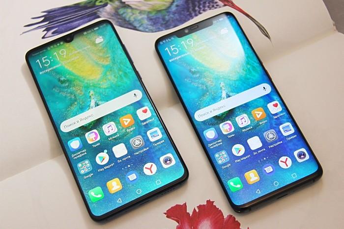 сравнительный обзор смартфонов Huawei Mate 20 и Huawei Mate 20 Pro