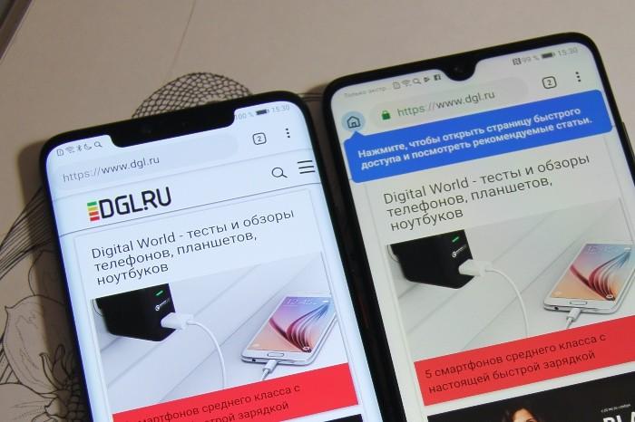 Huawei Mate 20 Pro и Mate 20 сравнение
