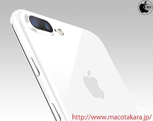 Apple может выпустить iPhone 7 и 7 Plus в глянцевых белых корпусах