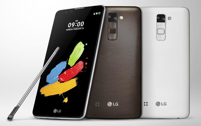 LG анонсировала 5,7-дюймовый смартфон Stylus 2 с комплектным стилусом