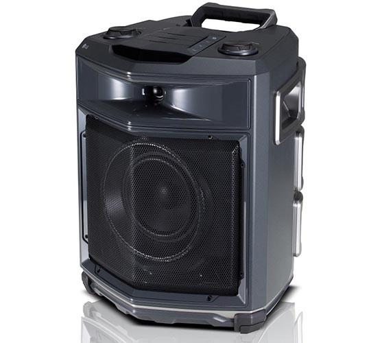 LG скрестила аудиосистему с чемоданом