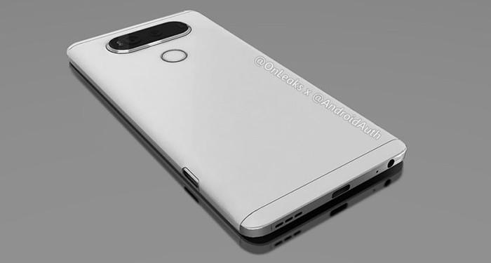 Опубликованы изображения смартфона LG V20 с Android 7.0 Nougat