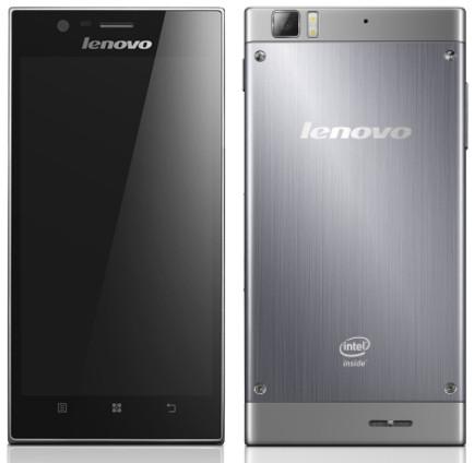 17 апреля начнутся продажи флагманского смартфона Lenovo IdeaPhone K900 с процессором Intel Atom