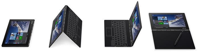 IFA 2016. Lenovo Yoga Book: ноутбук с сенсорной клавиатурой для рисования