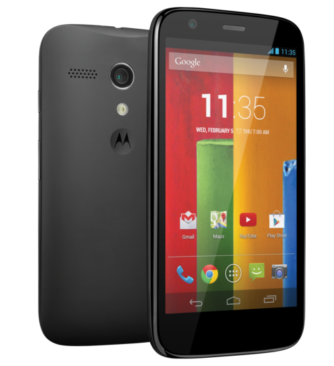 Moto G: новый смартфон среднего класса от Motorola