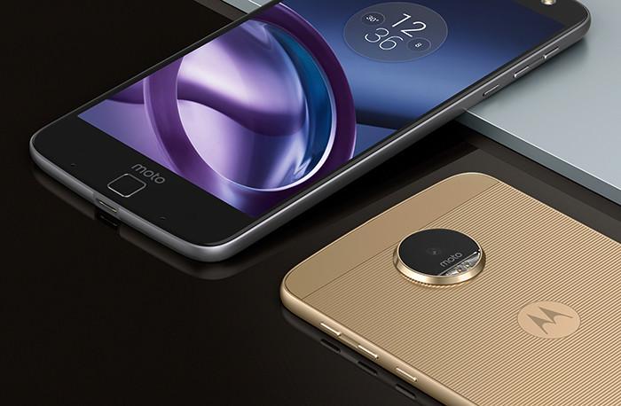 Lenovo анонсировала флагманские смартфоны Moto Z и Moto Z Force
