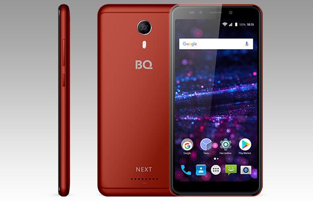 BQ BQ-5522 Next: безрамочный смартфон за 5490 рублей