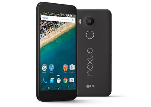 Google представляет 5,2-дюймовый смартфон LG Nexus 5X
