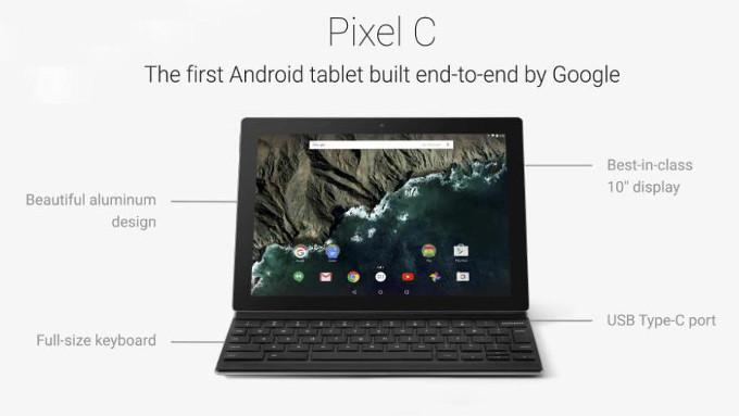 Анонсирован флагманский Android-планшет Google Pixel C
