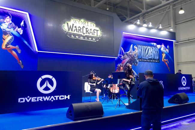 Blizzard Игромир 2017