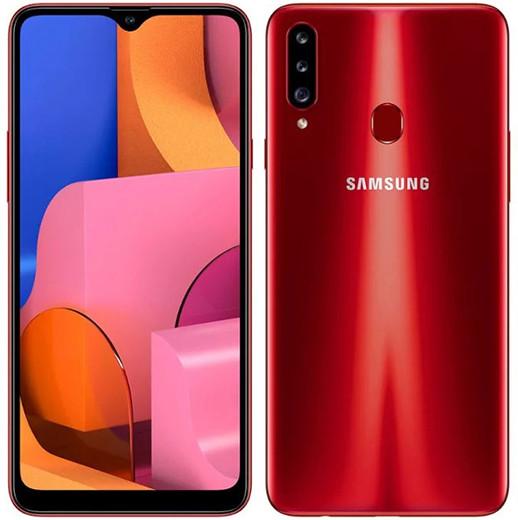 В России начались продажи недорогого смартфона Samsung Galaxy A20s с большим экраном и мощным аккумулятором
