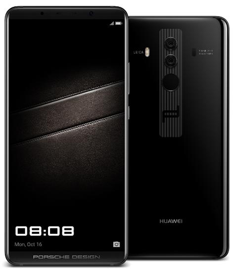 Представлены флагманские смартфоны Huawei Mate 10, Mate 10 Pro и Porsche Design Mate 10