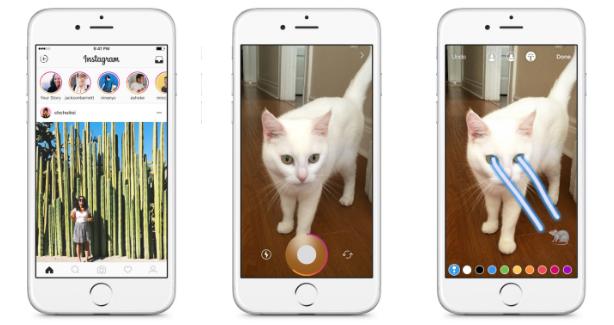 Instagram запустил функцию Stories для создания временных фотоальбомов