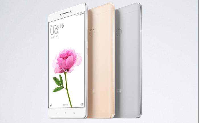 Xiaomi анонсировала 6,44-дюймовый фаблет Mi Max с батареей на 4 850 мАч