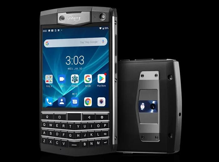 Представлен необычный смартфон с QWERTY-клавиатурой, NFC, батареей на 6000 мАч и защитой от воды