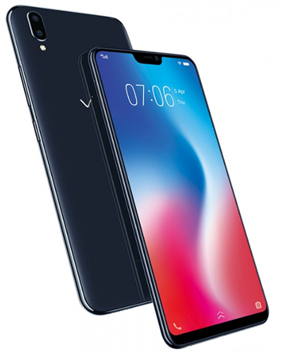 Смартфон Vivo V9 получил экран с вырезом, дизайн в стиле iPhone X и камеры с искусственным интеллектом