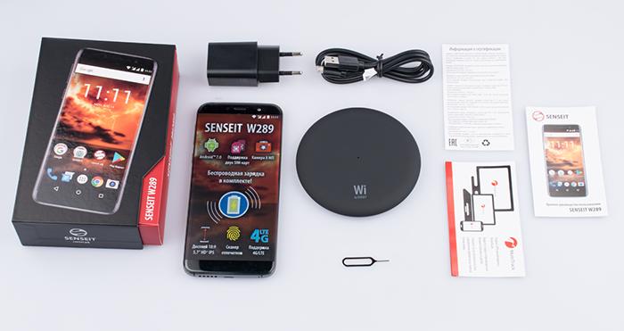 Senseit W289 за 8 990 рублей стал самым дешевым смартфоном с беспроводной зарядкой