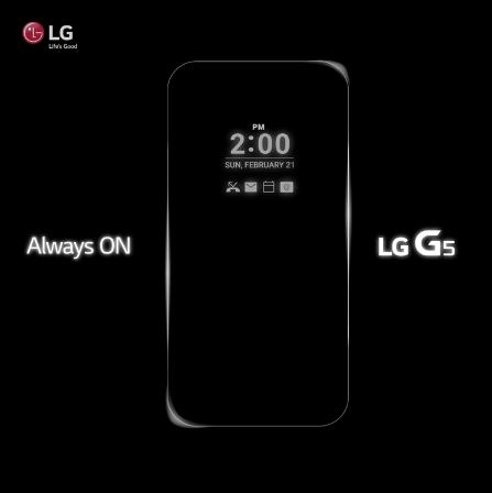 Смартфон LG G5 оснастят невыключающимся экраном