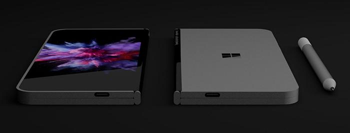 Появились новые подробности о складном планшете-смартфоне Microsoft