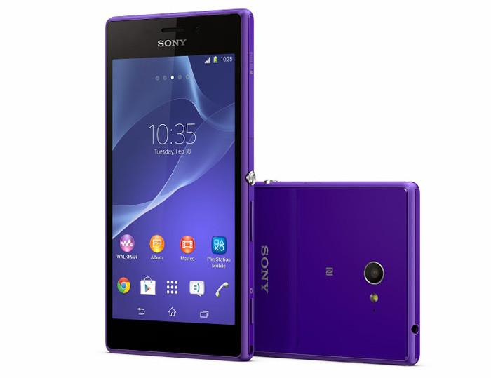 MWC 2014. Планшет Sony Xperia Z2 Tablet и смартфоны Sony Xperia Z2 и Xperia M2