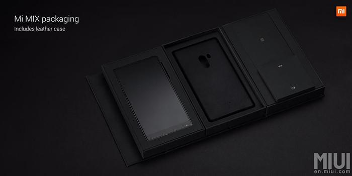 Xiaomi Mi Mix: 6,4-дюймовый смартфон с «безрамочным» экраном и керамическим корпусом