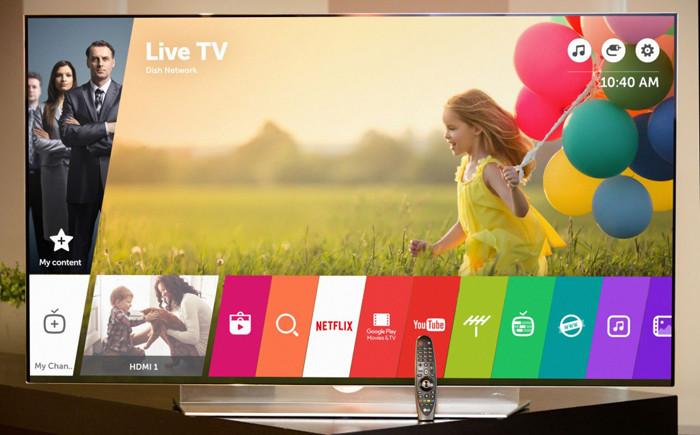 LG представляет платформу WebOS 3.0 для умных телевизоров