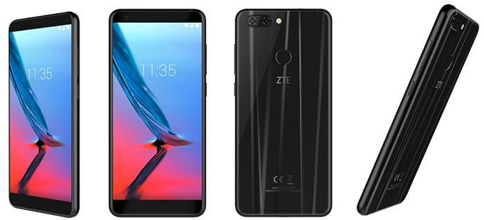 ZTE раскрыла подробности о своем первом безрамочном смартфоне