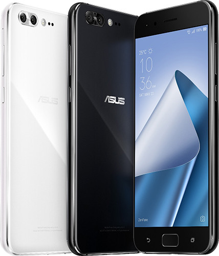 Представлены смартфоны ASUS ZenFone 4 и 4 Pro в стеклянных корпусах и с двойными задними камерами