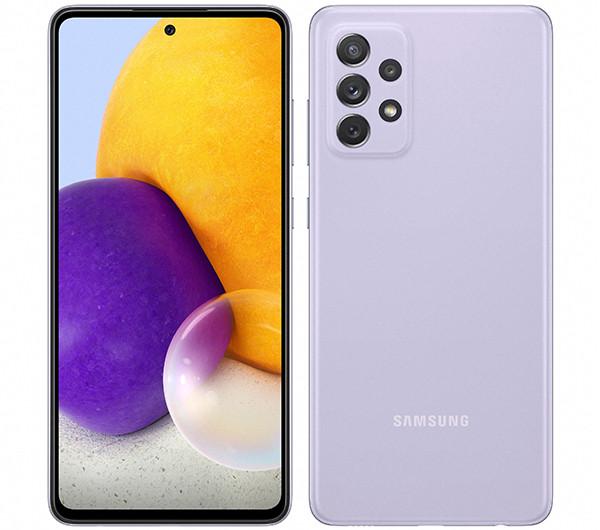 Смартфон Samsung Galaxy A72 получил защиту от воды, стереодинамики и камеры с оптическим зумом