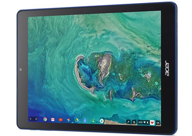 Acer представила Chromebook Tab 10. Это первый в мире серийный планшетный ПК на базе Chrome OS