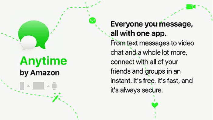 Amazon запустит свой мессенджер с шифрованием и возможностью делать покупки
