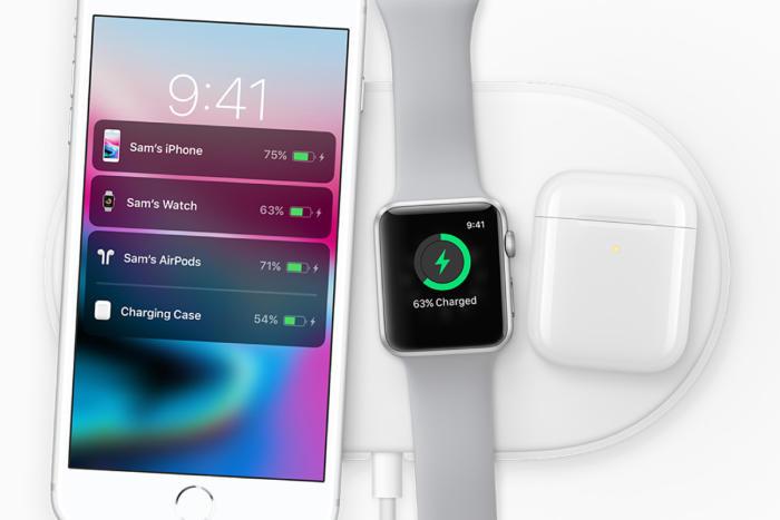 беспроводная зарядка Apple AirPower