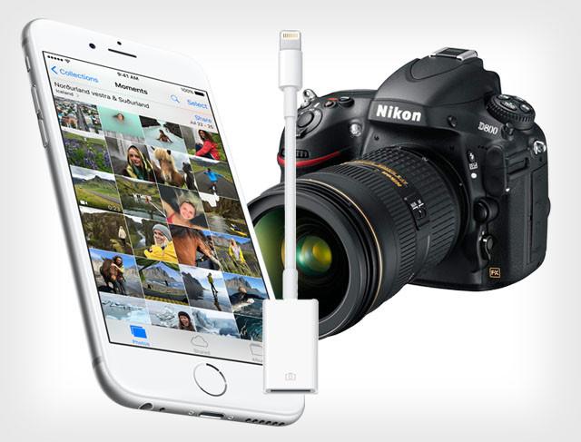 iOS 9.2 позволяет передавать фото с камер напрямую в iPhone
