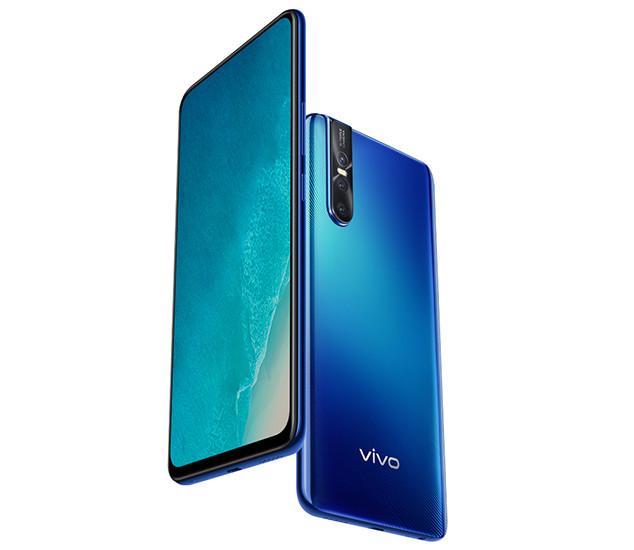 Названы российские цены смартфонов Vivo V15 и V15 Pro с большими экранами, мощными батареями и NFC