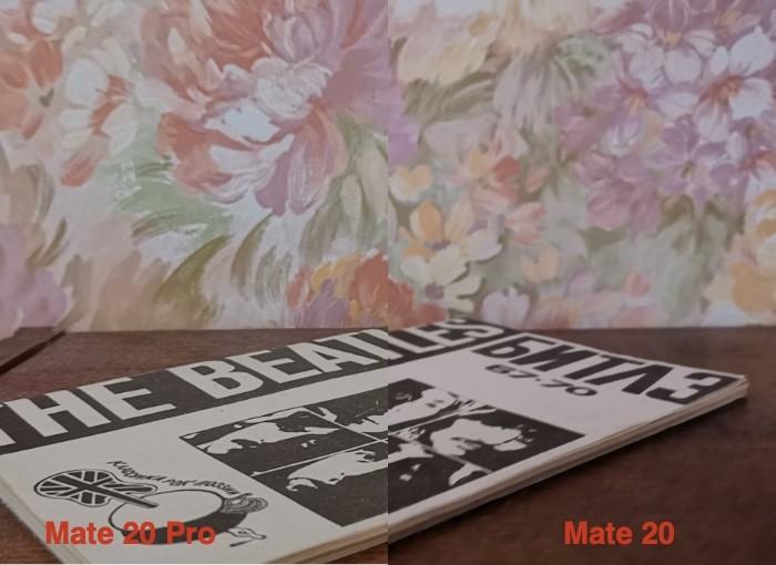 сравнение камер Huawei Mate 20 и Huawei Mate 20 Pro