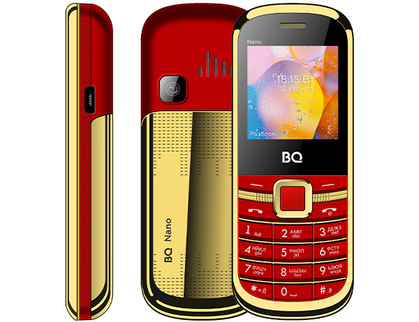 Российский бренд выпустил очень маленький кнопочный телефон в корпусе из металла