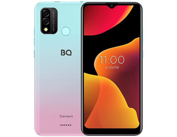 Представлен смартфон BQ 6645L Element за 9 тысяч рублей с 3 Гбайт оперативки и Android 11