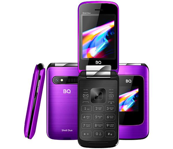Премьера: В России представили недорогой раскладной кнопочный телефон с двумя цветными экранами