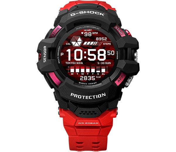 Casio выпустила первые в истории умные часы серии G-Shock. Они выглядят как танк и не боятся воды
