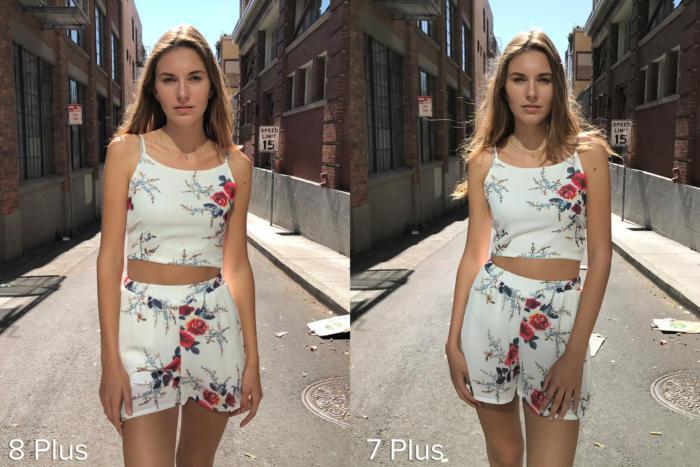 примеры снимков iPhone 7 Plus и iPhone 8 plus
