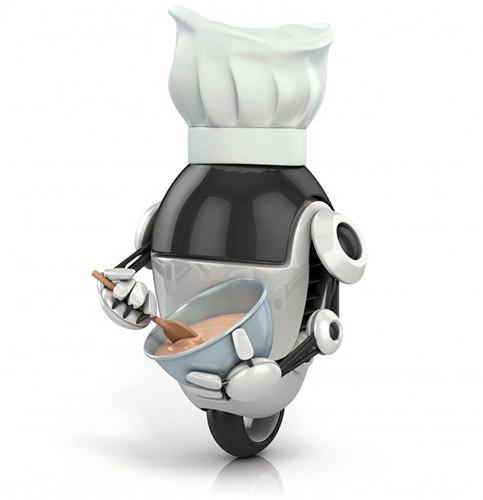 Sony займется разработкой роботов-поваров и научит их сервировать столы