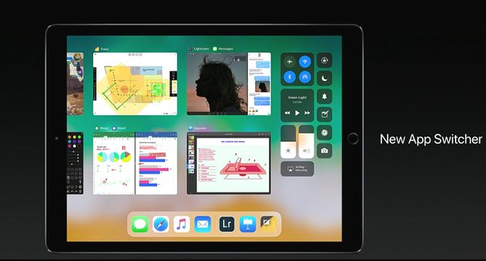 WWDC 2017. Тандем iOS 11 и iPad: функции новой ОС специально для планшетов