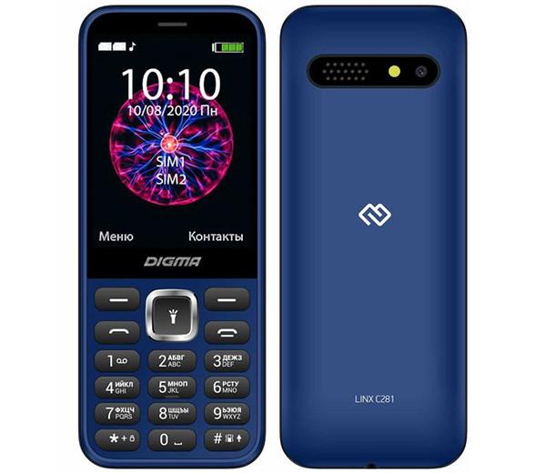 Новый телефон с клавиатурой за 1590 рублей получил большой экран и аккумулятор повышенной емкости