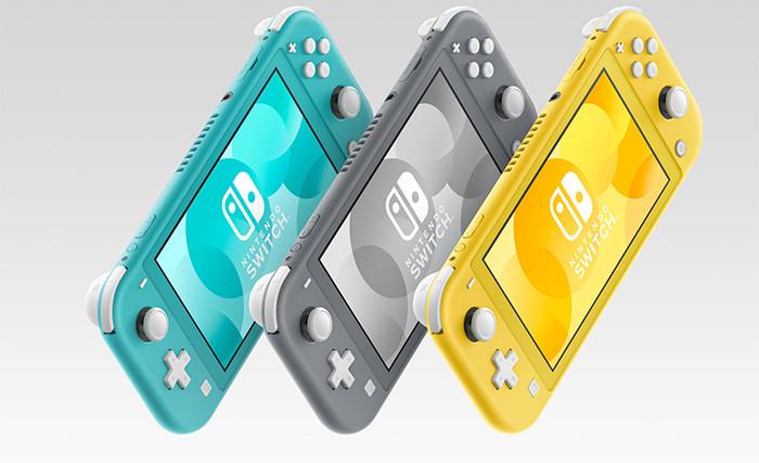 Nintendo представила недорогую карманную игровую консоль Switch Lite